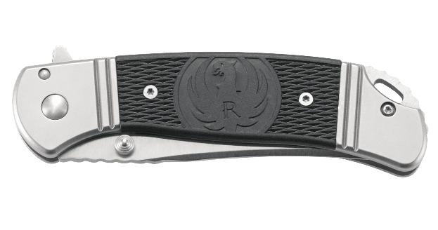 Фото 13 - Складной нож CRKT R2302 Ruger® Knives Hollow-Point™, сталь 8Cr13MOV, рукоять из нерж. стали с накладками из термопластика