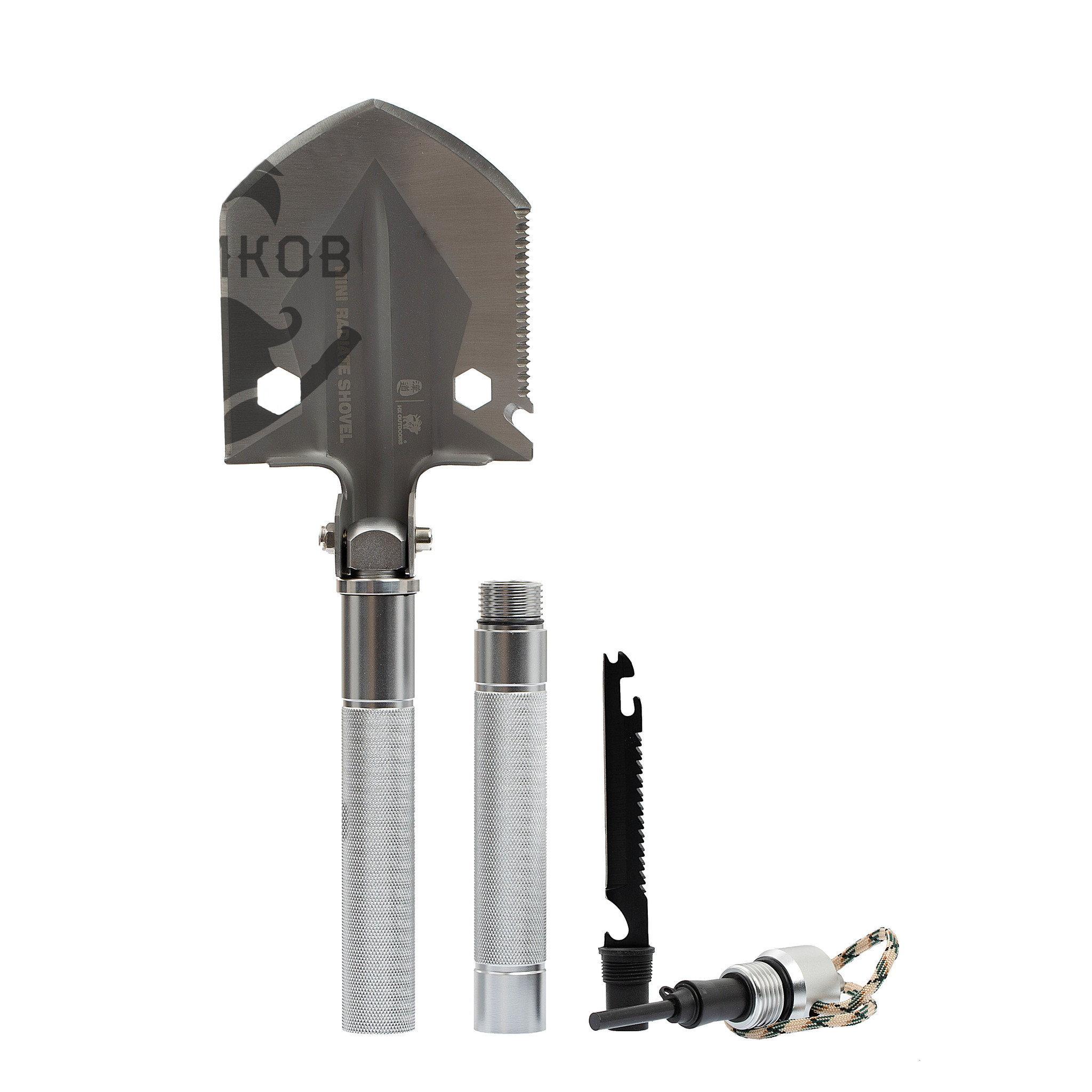Многофункциональная лопата для выживания 11-в-1, GBC-21A от HX OUTDOORS