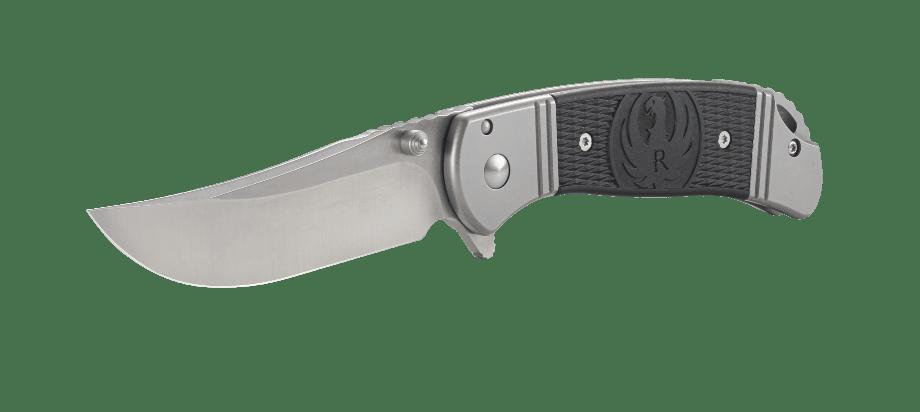 Фото 17 - Складной нож CRKT R2302 Ruger® Knives Hollow-Point™, сталь 8Cr13MOV, рукоять из нерж. стали с накладками из термопластика