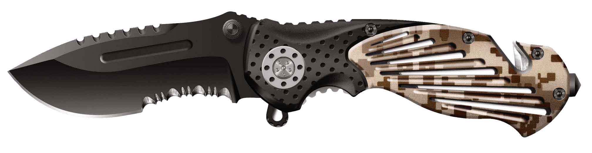 Нож складной Stinger SA-580DC, сталь 420, алюминий нож складной stinger sa 574b сталь 420 алюминий