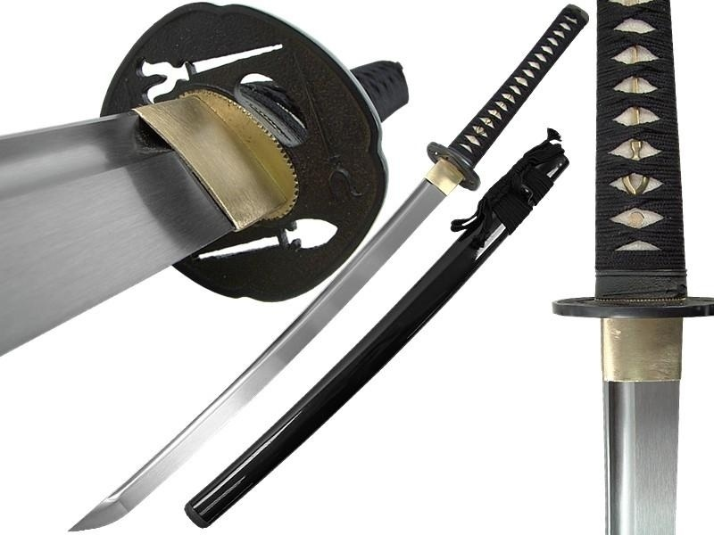 Фото 9 - Меч Cold Steel O Tanto (Warrior Series) 88BT, сталь 1060 Carbon, рукоять кожа