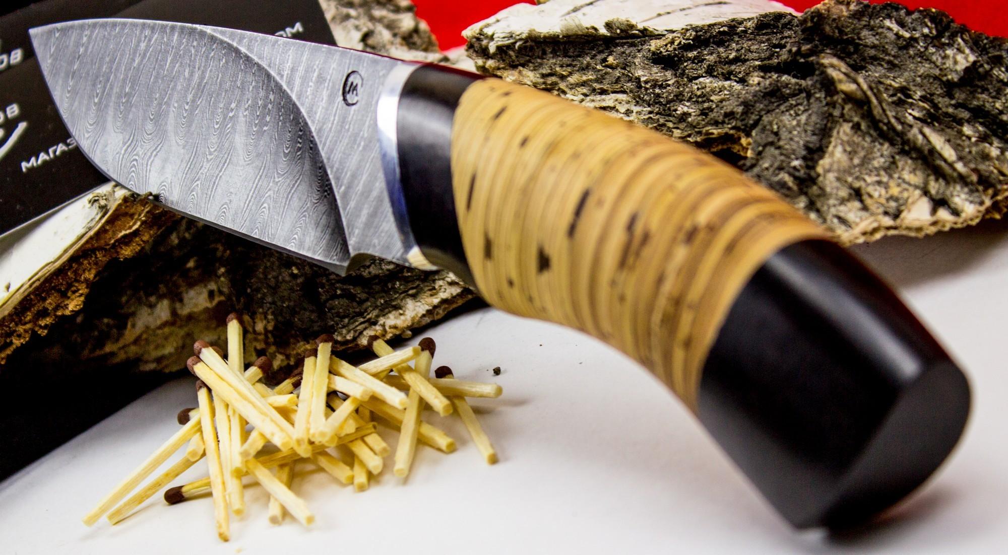 Фото 7 - Нож Разделочный, дамасская сталь от Кузница Семина