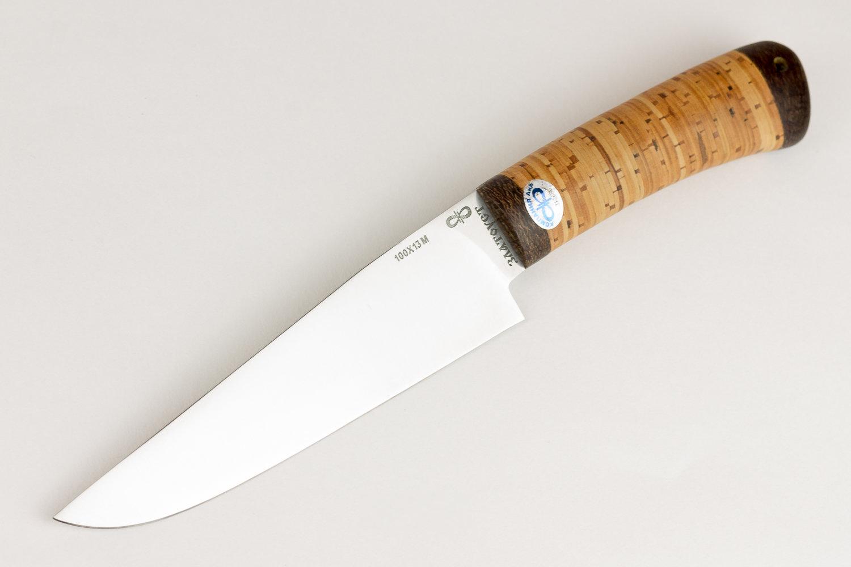 Нож Барибал 100х13м, береста, АиР