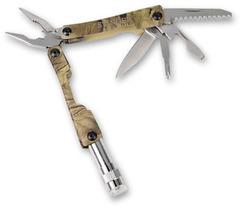 Мультитул Stinger, сталь (серебристый+камуфляж), 6 инструментов, нейлоновый чехол, коробка картон