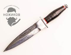 Кинжал Охотничий с рисунком, Златоуст, 95х18