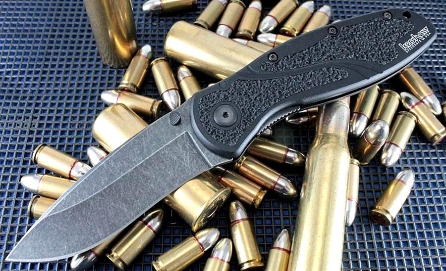 Фото 3 - Складной полуавтоматический нож Kershaw Blur K1670BW, сталь Sandvik 14C28N, рукоять алюминий