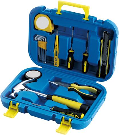 Набор инструментов Stinger, 15 инструментов, в пластиковом кейсе, 290х75x205 мм набор инструментов hitachi 753000