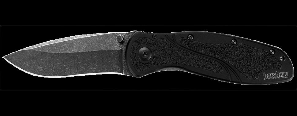 Фото 10 - Складной полуавтоматический нож Kershaw Blur K1670BW, сталь Sandvik 14C28N, рукоять алюминий