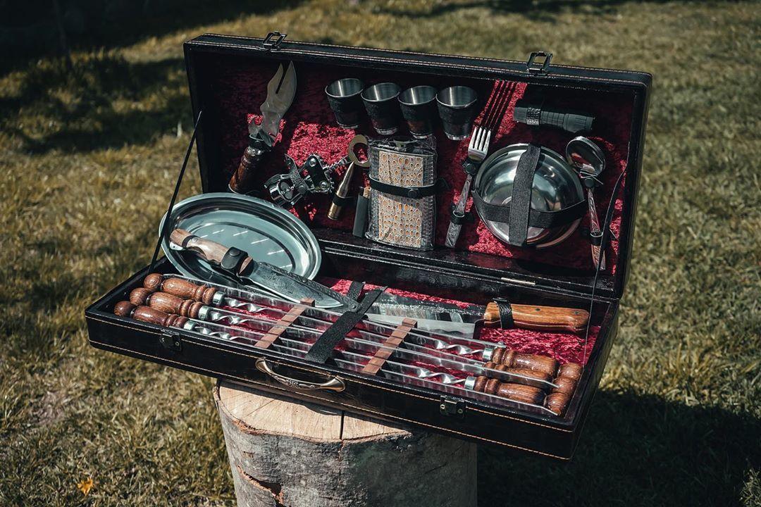 Подарочный шашлычный набор