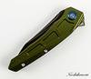 Складной нож Maxace Ptilopsis Green, сталь M390 - Nozhikov.ru