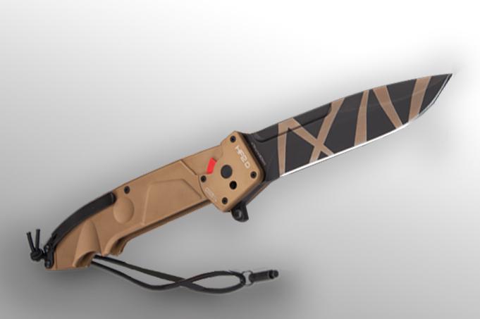 Купить Складной нож Extrema Ratio HF2 D DESERT WARFARE, сталь Bhler N690, рукоять алюминий в России