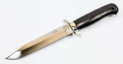Нож разведчика, Х12МФ, черный граб