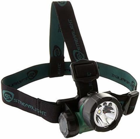Фонарь светодиодный налобный Streamlight Headlamp Green Trident 61051. Вид 1