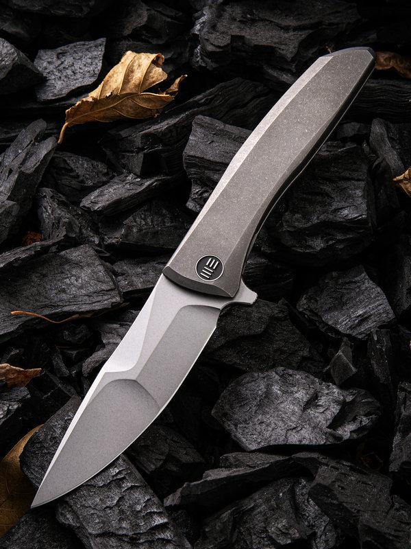 Складной нож WE Knife Scoppio Gray, CPM 20CV
