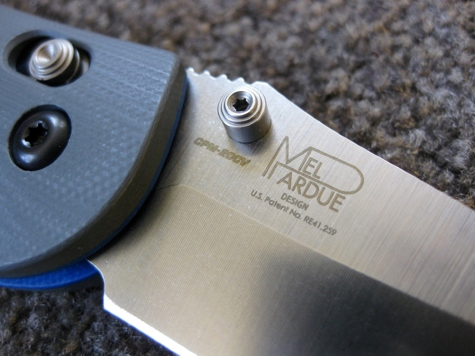 Фото 4 - Складной нож Benchmade Griptilian 551-1, сталь 20CV, рукоять G-10