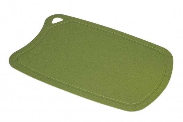 Доска Samura термопластиковая, 380х250х2 мм, оливковая цена