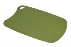 Доска Samura термопластиковая, 380х250х2 мм, оливковая
