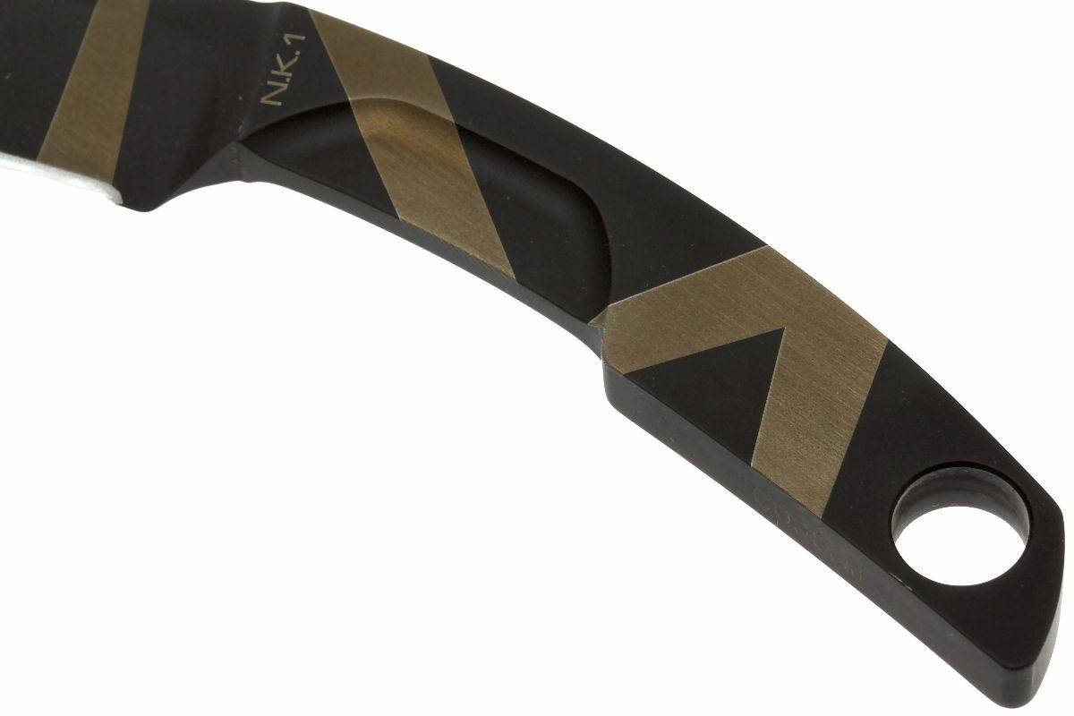 Фото 8 - Нож с фиксированным клинком Extrema Ratio N.K. 1 Desert Warfare - Laser Engraving, сталь Bhler N690, цельнометаллический