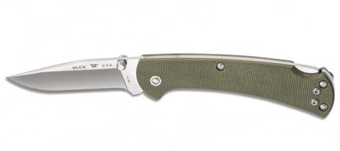 Складной нож Buck Ranger Slim Pro 0112ODS6, сталь S30V, рукоять микарта. Вид 2