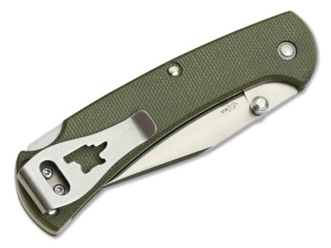 Складной нож Buck Ranger Slim Pro 0112ODS6, сталь S30V, рукоять микарта. Вид 6