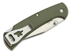 Складной нож Buck Ranger Slim Pro 0112ODS6, сталь S30V, рукоять микарта, фото 6
