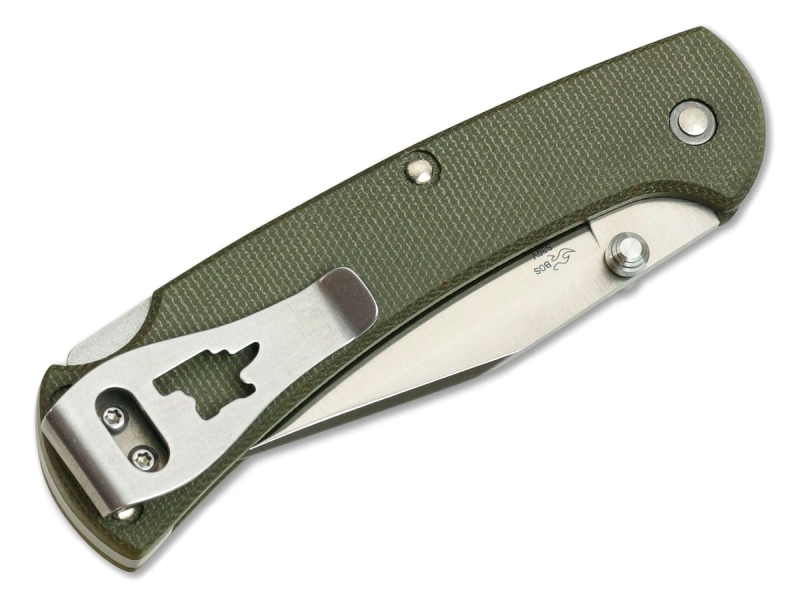 Фото 7 - Складной нож Buck Ranger Slim Pro 0112ODS6, сталь S30V, рукоять микарта