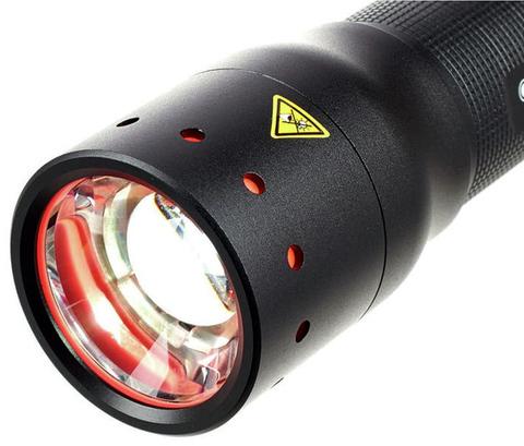 Фонарь светодиодный LED Lenser P7, 450 лм., 4-ААА. Вид 5
