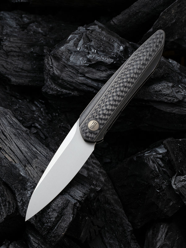 Складной нож WE Knife Black Void Opus, CPM 20CV