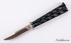 Нож-бабочка (балисонг) Халк