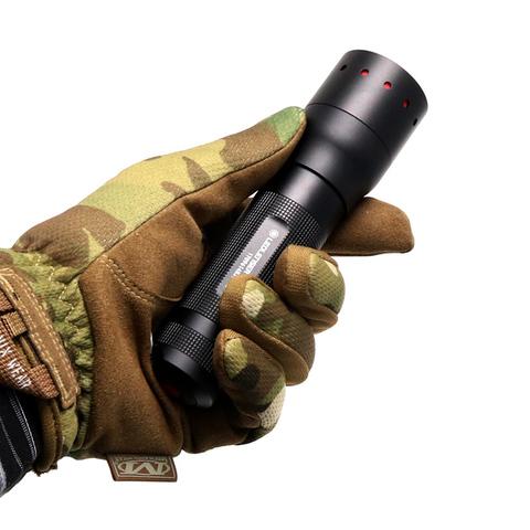 Фонарь светодиодный LED Lenser P7, 450 лм., 4-ААА. Вид 8