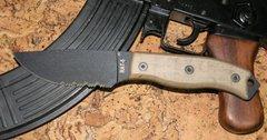 Нож с фиксированным клинком RAT-3 Carbon Steel