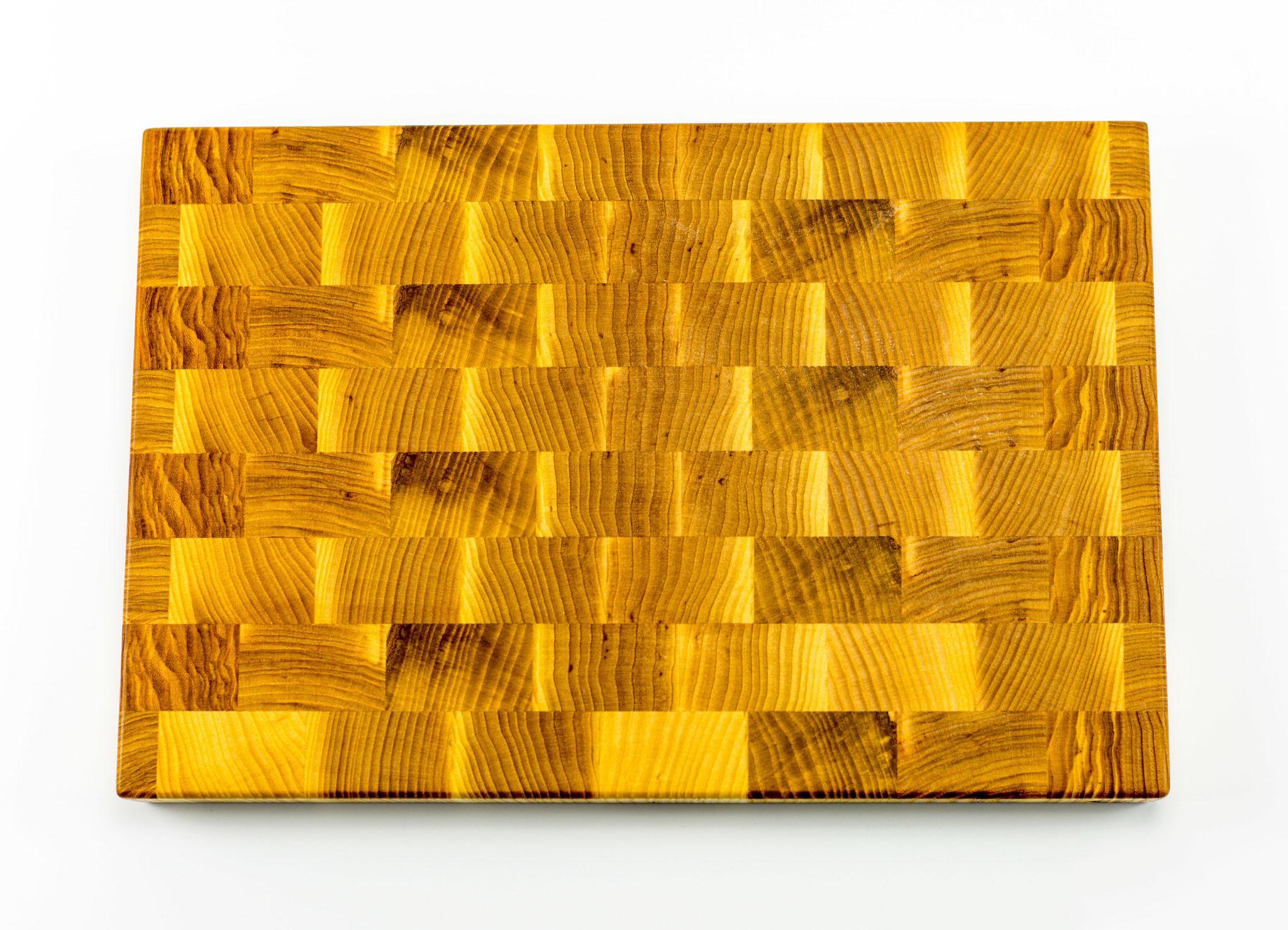 Доска разделочная торцевая, дуб, 27х37х3 см