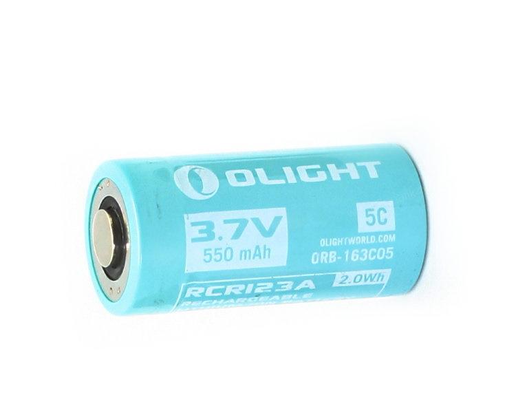 Аккумулятор Li-ion Olight ORB-163C05 16340 3,7 В. 550 mAh аккумулятор li ion olight orb 186p34 18650 3 7 в 3400 mah