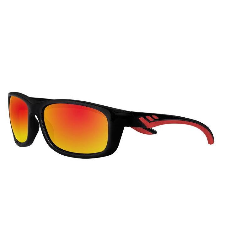 Фото - Очки солнцезащитные ZIPPO OS38-01 спортивные, унисекс, чёрные, оправа из поликарбоната очки солнцезащитные zippo ob70 01 унисекс чёрные оправа из поликарбоната