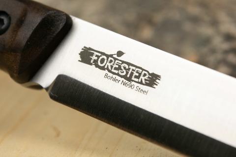 Нож Forester N690 Satin, Kizlyar Supreme. Вид 5