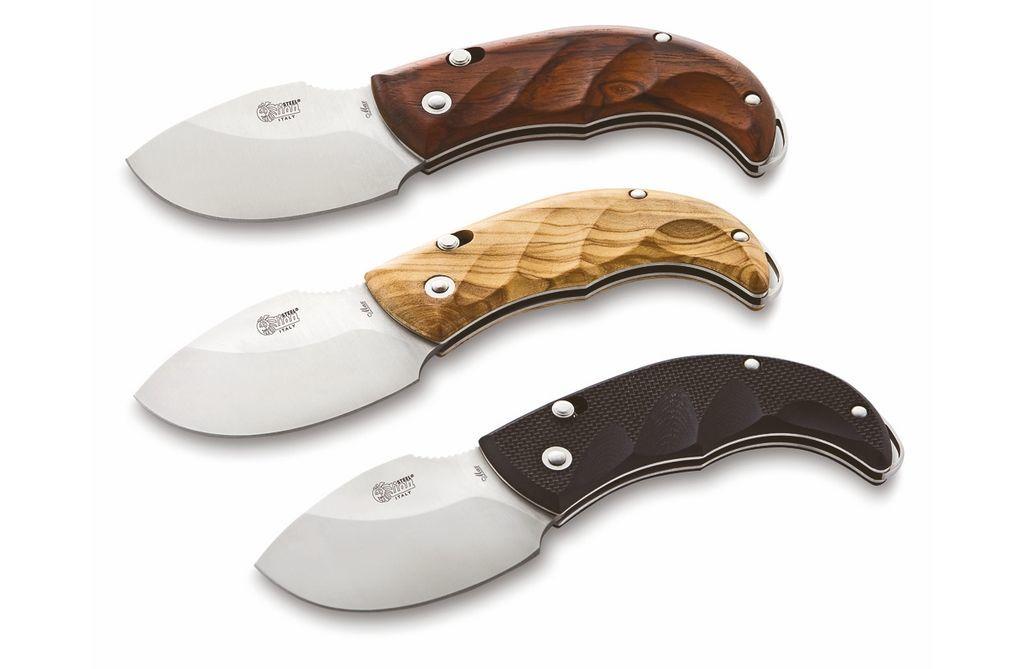 Фото 12 - Нож складной LionSteel Skinner 8901 CB, сталь 440C Satin Finish, рукоять дерево кокоболо, коричневый от Lion Steel