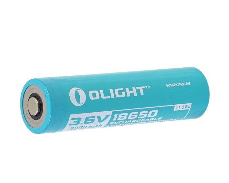 Аккумулятор Li-ion Olight ORB-186C32 18650 3,7 В. 3200 mAh аккумулятор li ion olight orb 186p34 18650 3 7 в 3400 mah