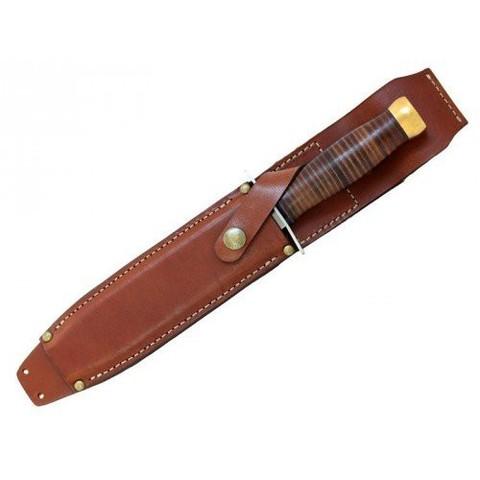 Нож EXTREMA RATIO Primo Corso, сталь Böhler N690, рукоять кожа. Вид 2