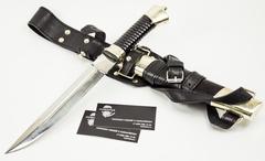 Нож Пластунский, сталь 95x18, латунь