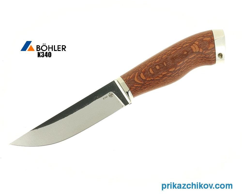 Нож Рабочий №3 из кованой стали Bohler K340 цена и фото
