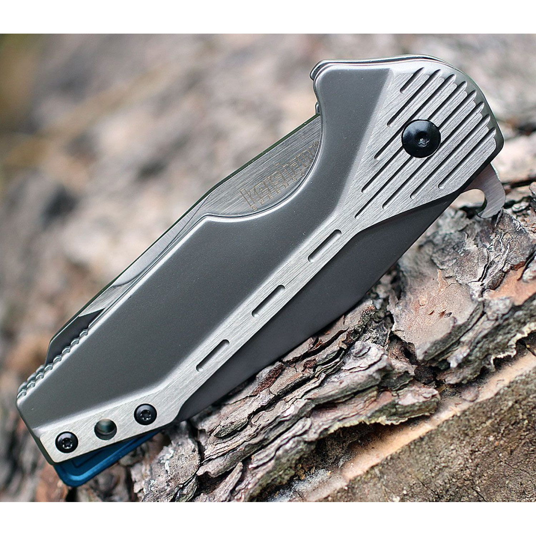 Фото 9 - Складной нож Malt - KERSHAW 5520, сталь клинка 8Cr13MoV, рукоять из нержавеющей стали