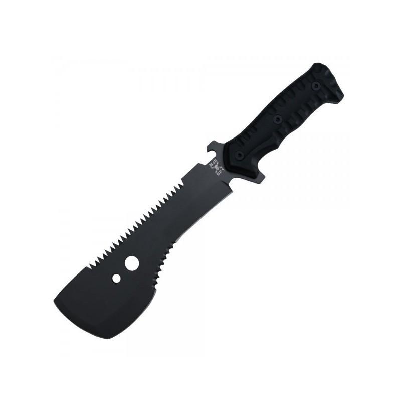Мачете M48, United Cutlery, UC3119, нержавеющая сталь 420A с титановым покрытием, рукоять пластик, чёрный