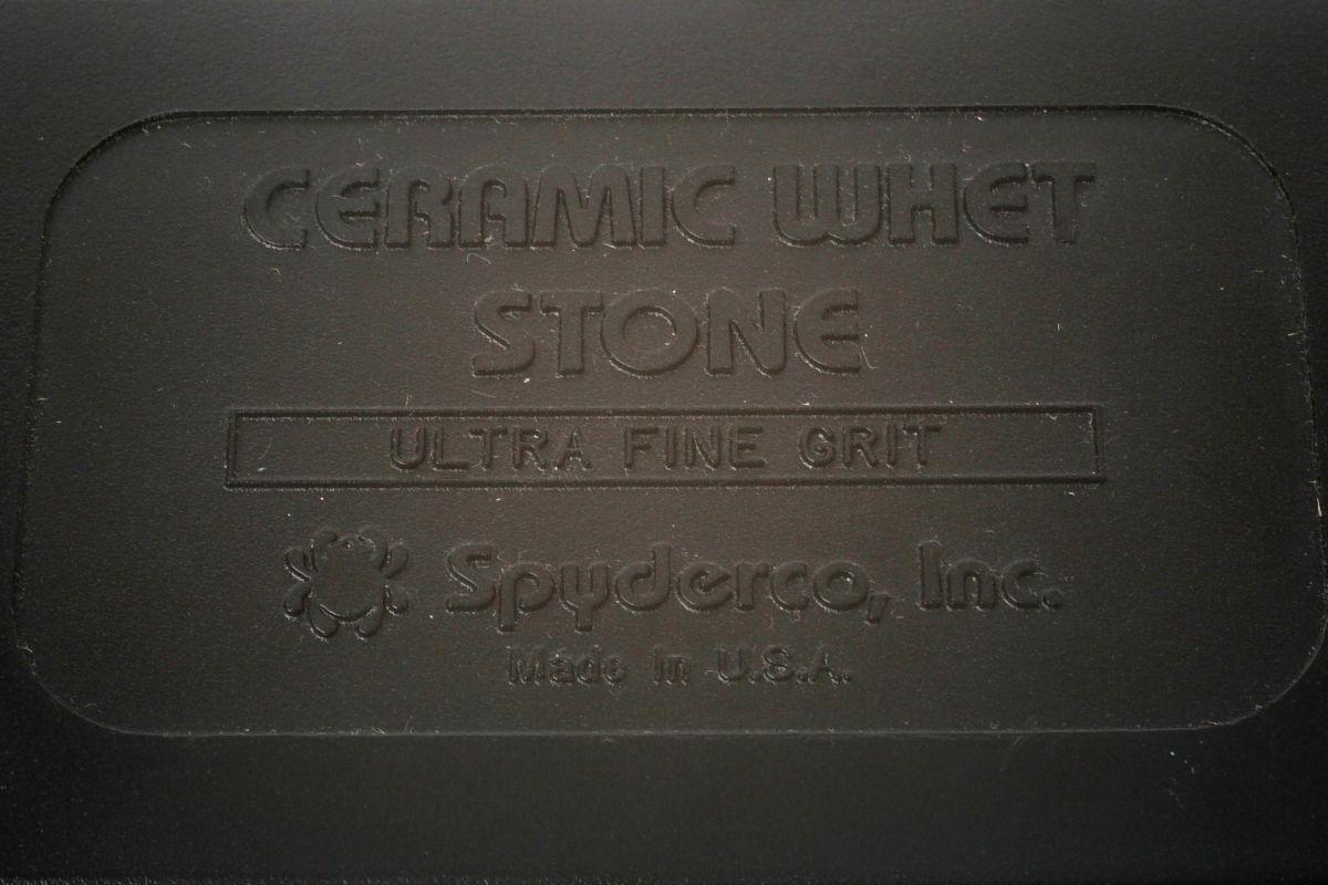 Фото 7 - Керамический камень (alumina ceramic) Spyderco BENCH STONE ULTRA FINE, 302UF