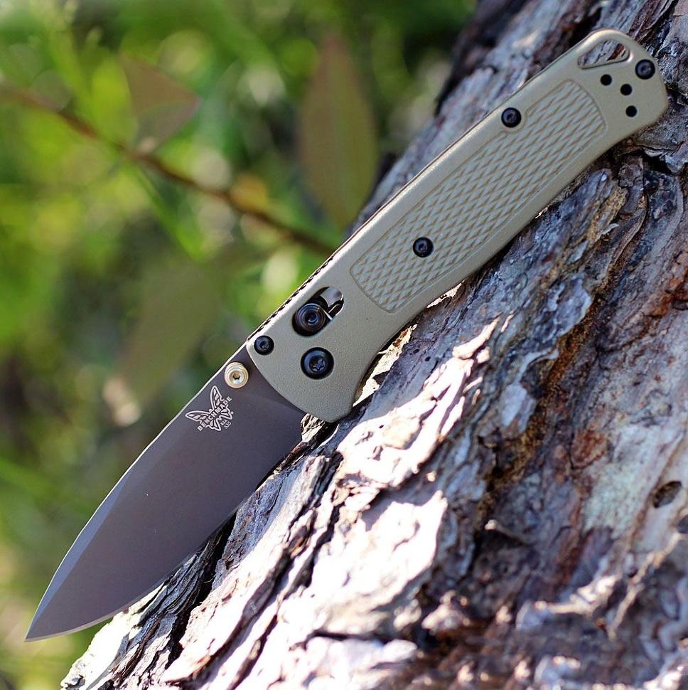 Фото 4 - Нож складной Bugout 535GRY-1, сталь S30V, рукоять пластик от Benchmade