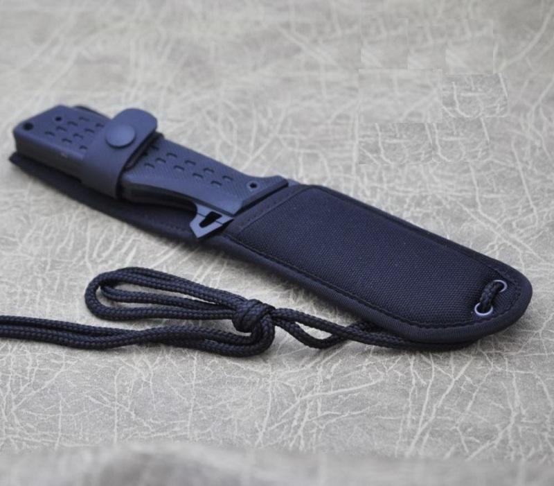 Фото 9 - Нож Fox N.E.R.O, сталь N690, рукоять стеклотекстолит G-10, чёрный