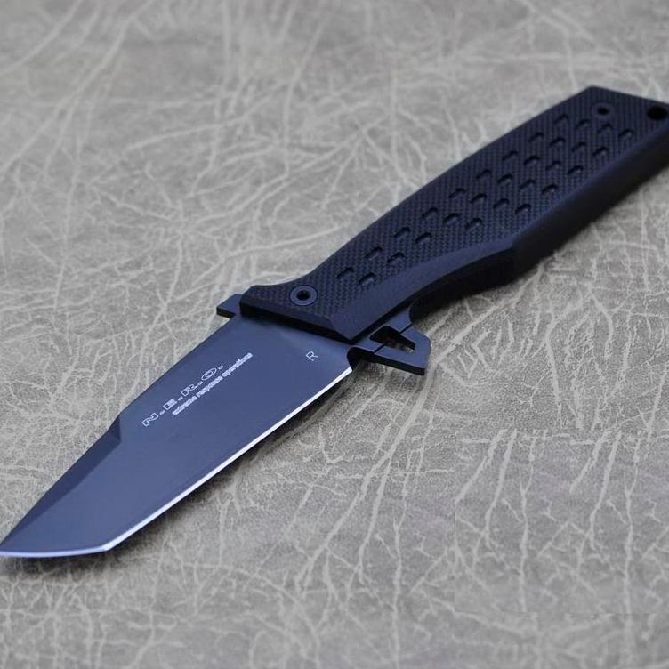 Фото 10 - Нож Fox N.E.R.O, сталь N690, рукоять стеклотекстолит G-10, чёрный