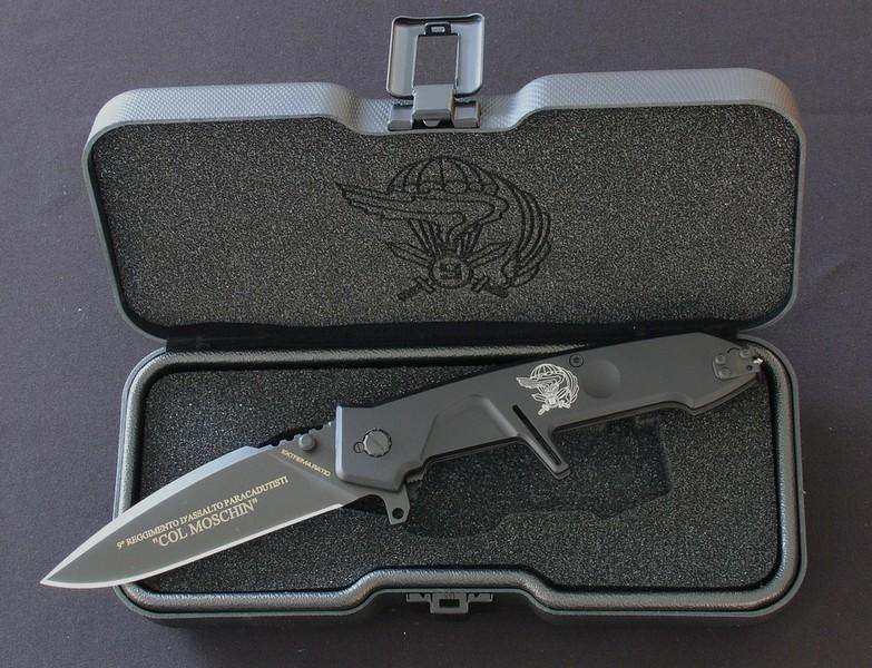 Фото 4 - Складной нож Extrema Ratio MF2 Ordinanza Col Moschin, сталь Bhler N690, рукоять алюминий