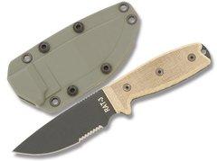 Нож с фиксированным клинком RAT-3 Carbon Steel 8633