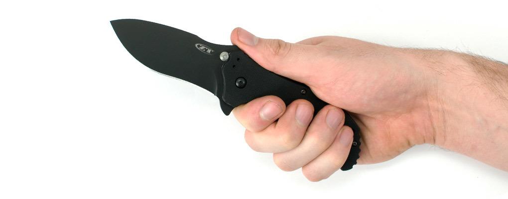 Фото 8 - Нож полуавтоматический Zero Tolerance 0350, сталь CPM S30V, рукоять G10