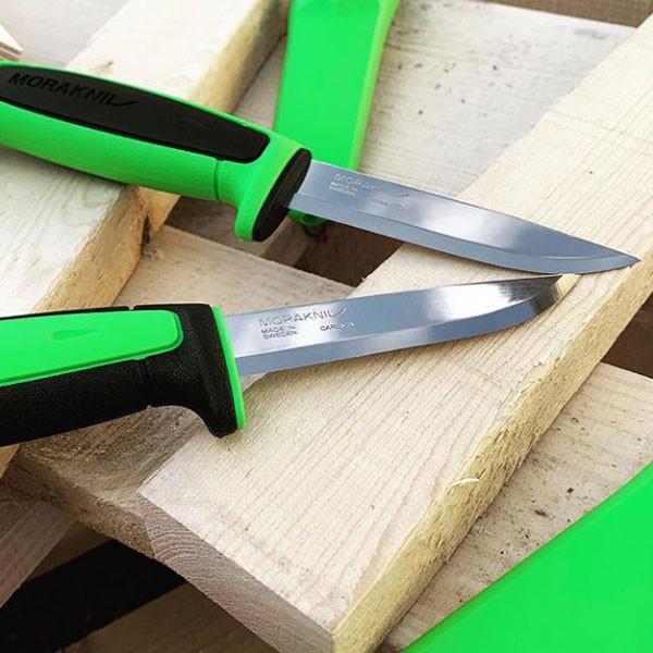 Фото 6 - Нож с фиксированным лезвием Morakniv Basic 511 2019 edition, углеродистая сталь, рукоять пластик